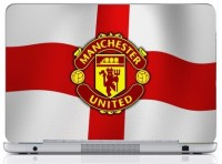 WebPlaza Menchester Logo Red 12Laptop Skin Vinyl Laptop Decal (All Laptops With Screen Size Upto 15.6 Inch)
