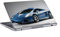 AV Styles Lamborghini For Police Skin Vinyl Laptop Decal (All Laptops)