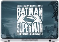 Macmerise Gotham Vs Krypton Blue - Skin For Dell Inspiron 15 - 5000 Series Vinyl Laptop Decal 15.6 (Dell Inspiron 15 - 5000 Series)