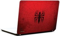Pics And You Spiderman Red Logo 3M/Avery Vinyl Laptop Decal 15.6 (Laptops And MacBooks)