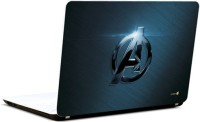 Pics And You Captain America Logo Classy Vinyl Laptop Decal (Laptops And Macbooks)