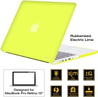 AirPlus Retina 13 Inch Neon Series Satin Finish Hard Case Shell Cover For Apple MacBook Pro 13.3 With Retina Display Plastic Laptop Decal (Apple MacBook Pro 13.3