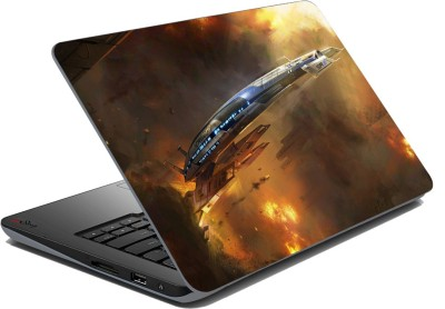 Saving Revolution Space Ship Vinyl Laptop Decal available at Flipkart for Rs.199