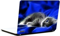 Pics And You 3D Cat Vinyl Laptop Decal (Laptops And Macbooks)