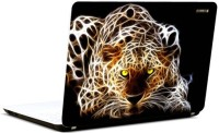 Pics And You 3D Leopard Vinyl Laptop Decal (Laptops And Macbooks)