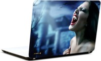 Pics And You Girl Screaming Vinyl Laptop Decal (Laptops And Macbooks)