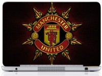 WebPlaza Manchester Logo 5 Laptop Skin Vinyl Laptop Decal (All Laptops With Screen Size Upto 15.6 Inch)