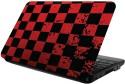 Printland Red & Black Vinyl Laptop Decal - Laptop