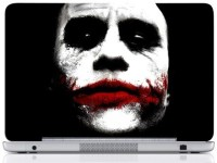 WebPlaza Joker Face 1 Skin Vinyl Laptop Decal (All Laptops With Screen Size Upto 15.6 Inch)