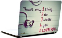 Pics And You Three Words Vinyl Laptop Decal (Laptops And Macbooks)