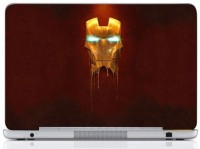 WebPlaza Iron Man Skin Vinyl Laptop Decal (All Laptops With Screen Size Upto 15.6 Inch)