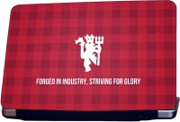 ShopMantra Manchester United Logo Vinyl Laptop Decal (All Laptops With Screen Size Upto 15.6 Inch)