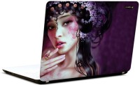 Pics And You Beautiful Fantasy Girl 12 3M/Avery Vinyl Laptop Decal (Laptops And MacBooks)