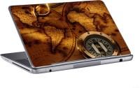 AV Styles World Map And Compass Skin Vinyl Laptop Decal (All Laptops)