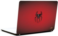 Pics And You Spiderman Logo On Red Vinyl Laptop Decal 15.6 (Laptops And Macbooks)