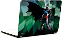 Pics And You Batman Multicolour 3M/Avery Vinyl Laptop Decal (Laptops And MacBooks)