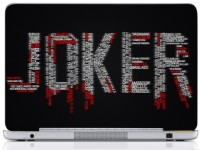 WebPlaza Typography Joker 4 Laptop Skin Vinyl Laptop Decal (All Laptops With Screen Size Upto 15.6 Inch)