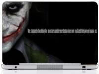 WebPlaza Typography Joker 2 Laptop Skin Vinyl Laptop Decal (All Laptops With Screen Size Upto 15.6 Inch)