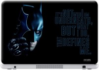 Macmerise Being Batman - Skin For Dell Inspiron 15 - 3000 Series Vinyl Laptop Decal 15.6 (Dell Inspiron 15 - 3000 Series)