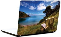 Pics And You Beachside View 9 3M/Avery Vinyl Laptop Decal (Laptops And MacBooks)