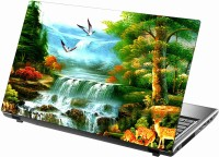 Sab Kuch Print Waterfall 197 Polyester Laptop Decal (Dell, HP, Samsung, Lenovo, Toshiba, Acer)