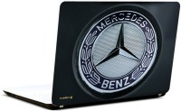 Pics And You Mercedes Benz Logo 3M/Avery Vinyl Laptop Decal 15.6 (Laptops And MacBooks)