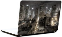 Pics And You Stunning City View Vinyl Laptop Decal (Laptops And Macbooks)