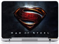 WebPlaza Superman Laptop Skin Vinyl Laptop Decal (All Laptops With Screen Size Upto 15.6 Inch)