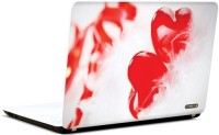Pics And You Red Hearts Vinyl Laptop Decal (Laptops And Macbooks)