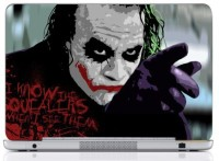 WebPlaza Why So Serious Laptop Skin Vinyl Laptop Decal (All Laptops With Screen Size Upto 15.6 Inch)