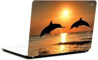 Pics And You Sunset Leap Vinyl Laptop Decal (Laptops And Macbooks)