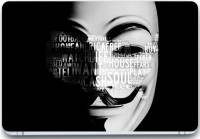 Trendsmate Anonymous 3D Mask Quotes 3M Vinyl And Lamination Laptop Decal (Laptop)