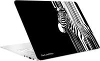 AV Styles Black And White Zebra Skin Vinyl Laptop Decal (All Laptops)