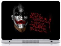 WebPlaza Joker Black Man Skin Vinyl Laptop Decal (All Laptops With Screen Size Upto 15.6 Inch)