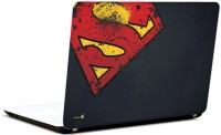 Pics And You Superman Logo Rugged 3M/Avery Vinyl Laptop Decal (Laptops And MacBooks)
