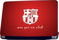 ShopMantra FCB Logo Vinyl Laptop Decal (All Laptops With Screen Size Upto 15.6 Inch)