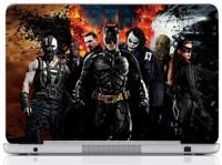 WebPlaza Batman Team Skin Vinyl Laptop Decal (All Laptops With Screen Size Upto 15.6 Inch)
