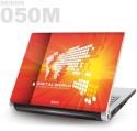 Saco Metallic Skin-50 Metallic PET Laptop Decal - Universal Size - Free Cut Upto 17 Inch