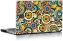 Magickrafts Seamless Flower Retro Background Pattern Vinyl Laptop Decal - Laptop