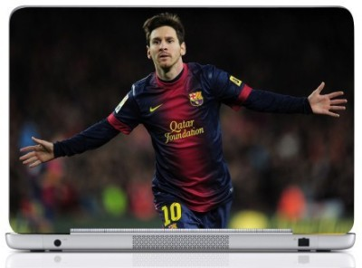 WebPlaza Leo Messi Skin Vinyl Laptop Decal (All Laptops With Screen Size Upto 15.6 Inch)