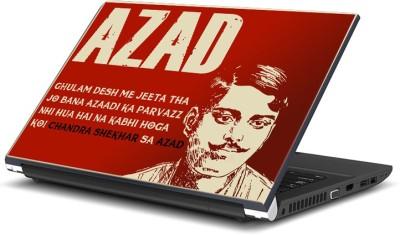ShopMantra Chandra Shekhar Azad The Legend Laptop Skin Vinyl Laptop Decal (All Laptop)