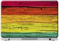 Macmerise Wood Stripes Neon - Skin For Dell Inspiron 15R-5520 Vinyl Laptop Decal (Dell Inspiron 15R-5520)
