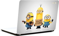 Pics And You Minions Stupid Vinyl Laptop Decal (Laptops And Macbooks)