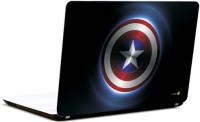 Pics And You Captain America Logo Full Vinyl Laptop Decal (Laptops And Macbooks)