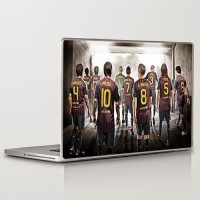 Theskinmantra Hall Of Fame Barcelona Fc Universal Size Vinyl Laptop Decal (Compatible With All Laptops Of All Brands)