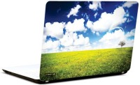 Pics And You Blue Sky 6 3M/Avery Vinyl Laptop Decal (Laptops And MacBooks)