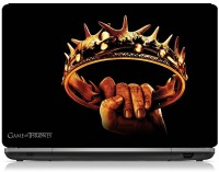 ClickToSolve Game Of Thrones The King's Crown Vinyl Laptop Decal (Laptops -16 Inches)