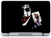 WebPlaza Joker Cardes Skin Vinyl Laptop Decal (All Laptops With Screen Size Upto 15.6 Inch)