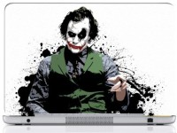 WebPlaza Joker White Skin Vinyl Laptop Decal (All Laptops With Screen Size Upto 15.6 Inch)