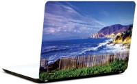 Pics And You Bold And Blue 9 3M/Avery Vinyl Laptop Decal (Laptops And MacBooks)